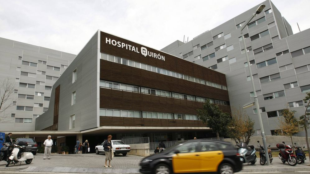 Foto: El hospital Quirón de Barcelona es el que más ha subido durante el último año. (Reuters)