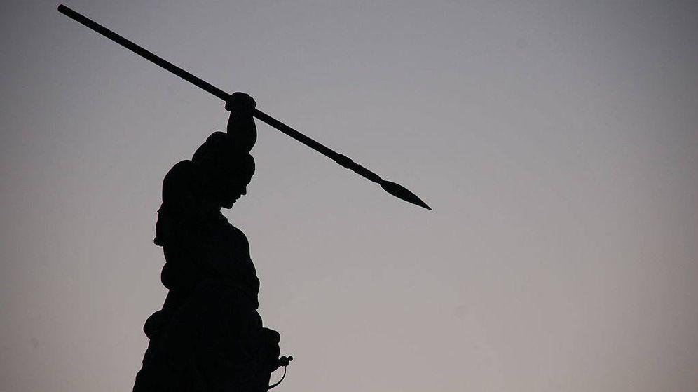 Foto: Estatua de María Pita en A Coruña | Foto: Iago Casabiell González-CC