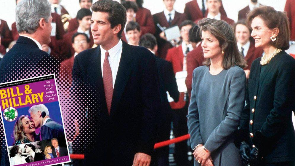 Foto: Bill Clinton, John Kennedy Junior, Caroline Kennedy y Jackie Kennedy (Vanitatis)