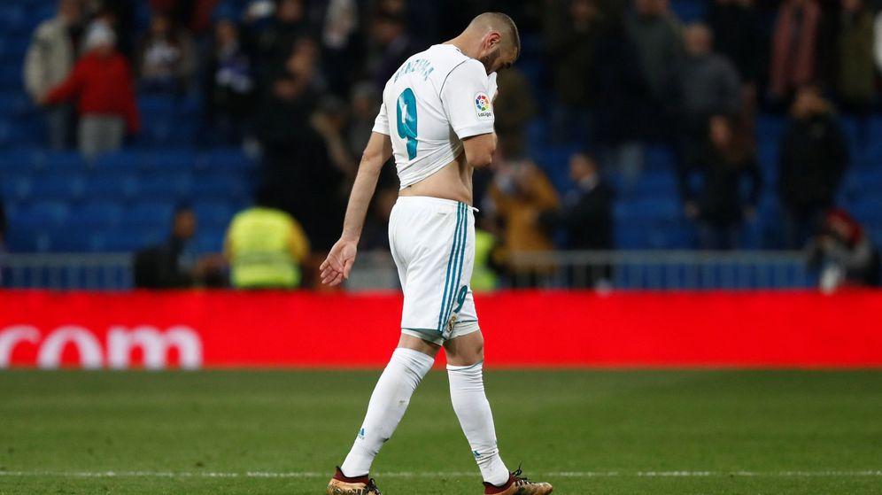 Foto: Esta temporada, Benzema ha marcado seis goles en 24 partidos. (Reuters)