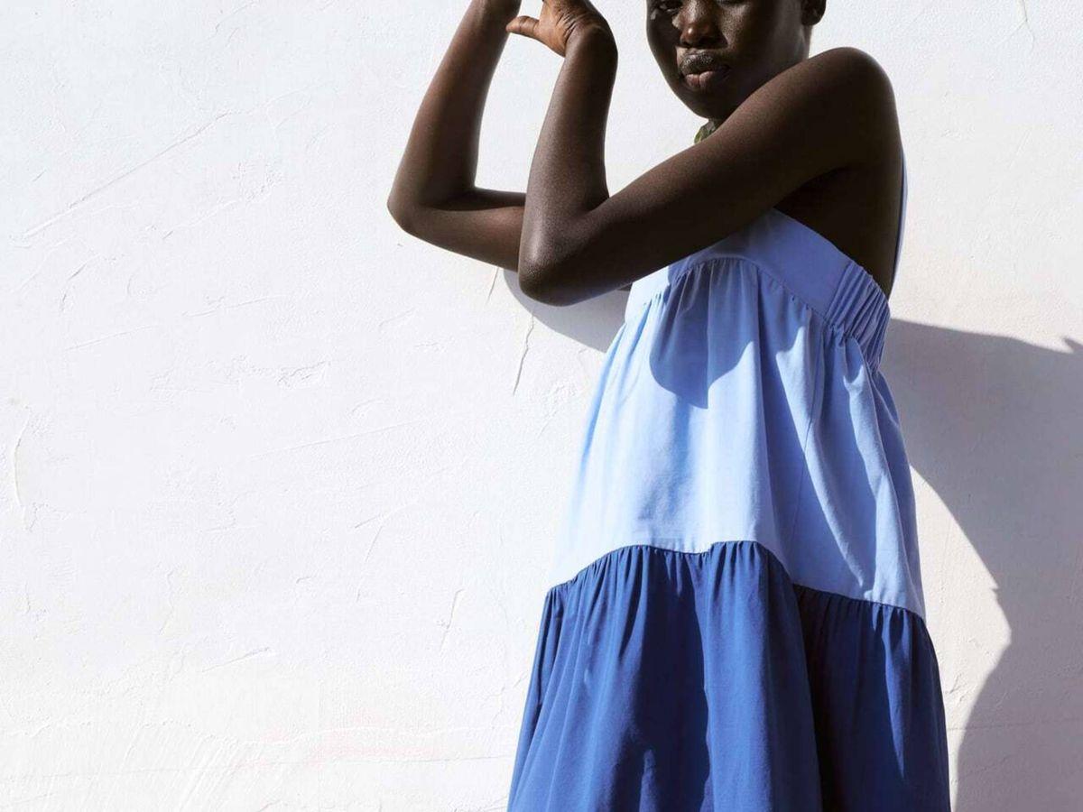 Foto: El vestido de Zara. (Cortesía)