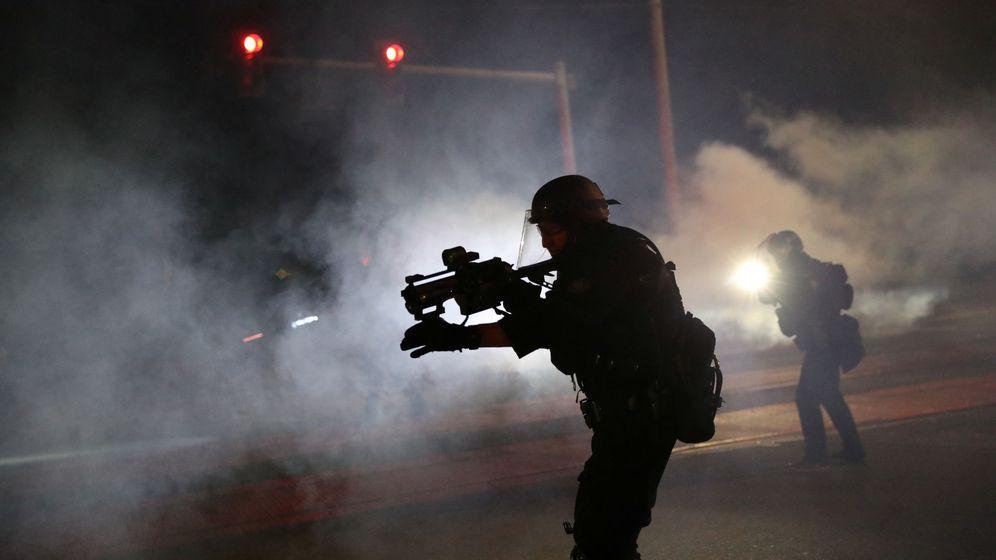 Foto: Protestas en Portland. (Reuters)