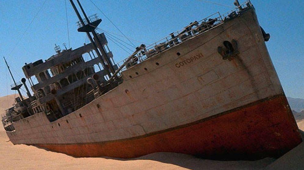 Foto: El SS Cotopaxi, en 'Encuentros en la tercera fase'