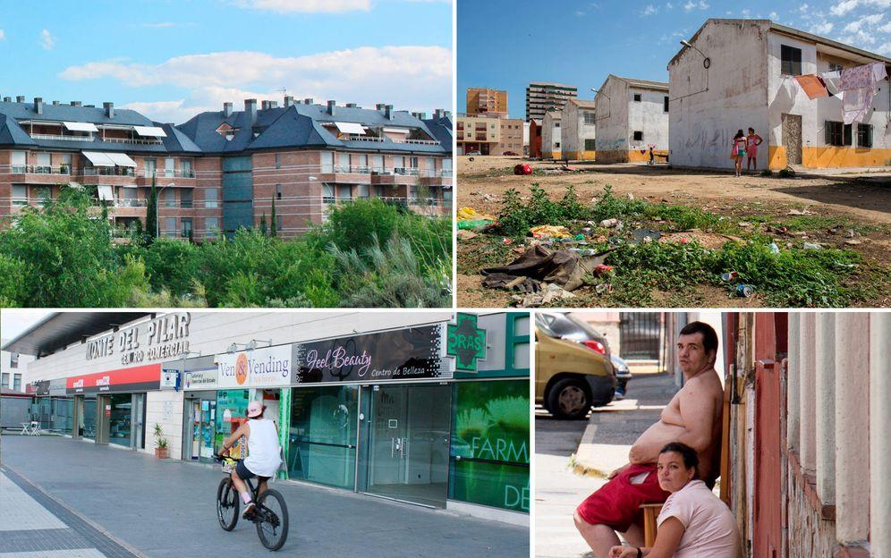 Foto: La Línea, en Cádiz, es el sitio de España con peores indicadores de calidad de vida. Al contrario que Majadahonda, entre los mejores. (Enrique Villarino)