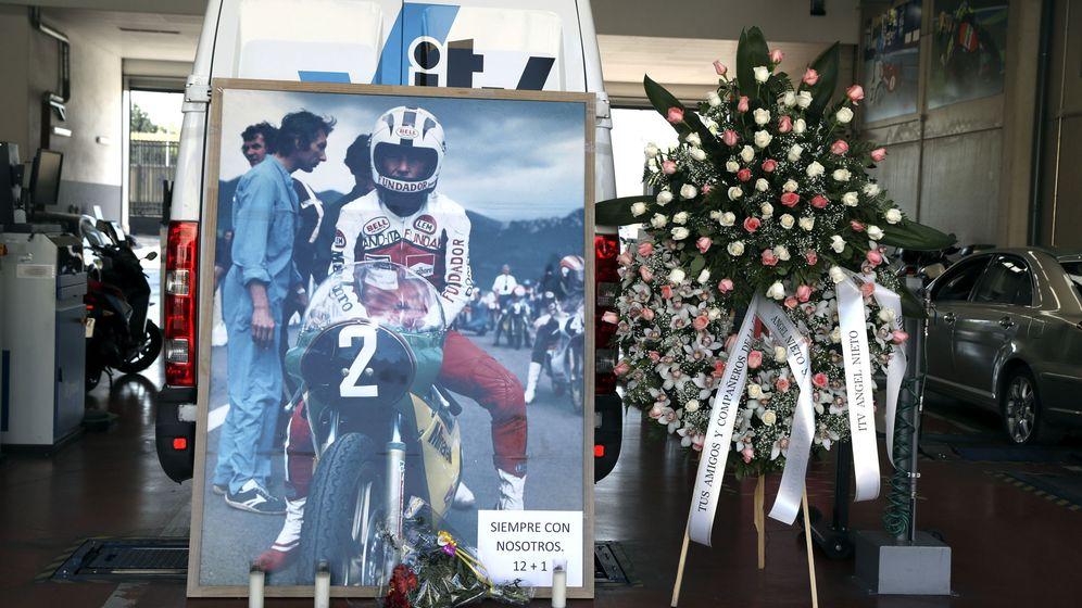 Foto: Avalancha de homenajes a Ángel Nieto