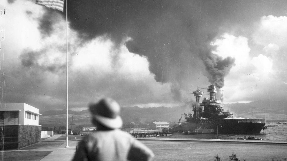 Foto: Foto de archivo del ataque a Pearl Harbor. (Reuters)