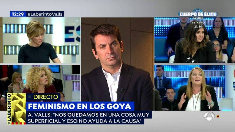 Arturo Valls se explica en 'Espejo público' de su polémica en los Goya.