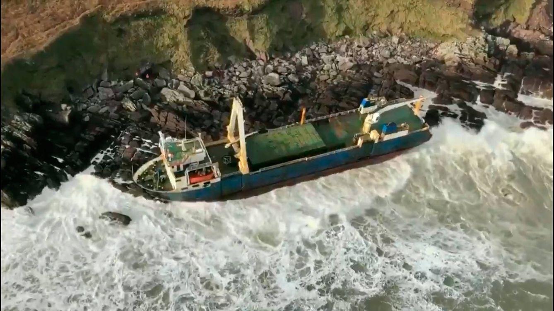 El misterio del barco fantasma que recorre el mundo sin ser visto