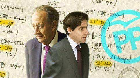 López Madrid se llevó parte de las donaciones que hizo su suegro al PP