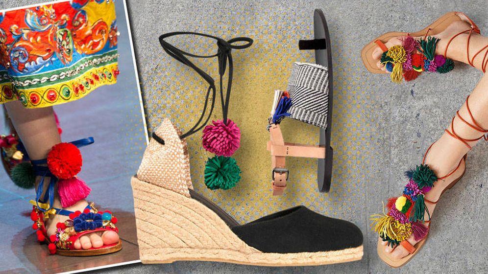 Foto: La oferta de sandalias es casi infinita