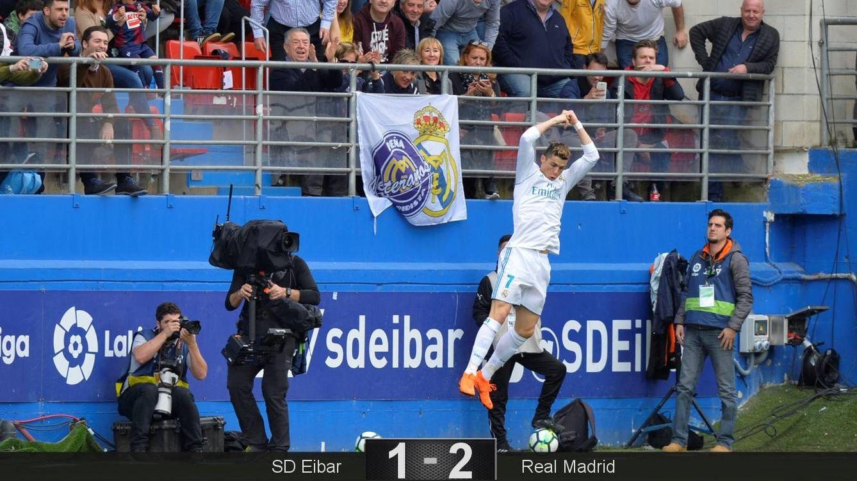 Cristiano es lo  que se salva en un Madrid que preferiría simular lo que queda de Liga