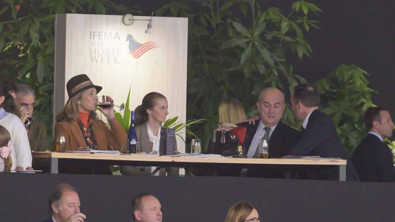 De la infanta Elena y un buen vino a Marta Ortega con sus suegros: Madrid Horse Week