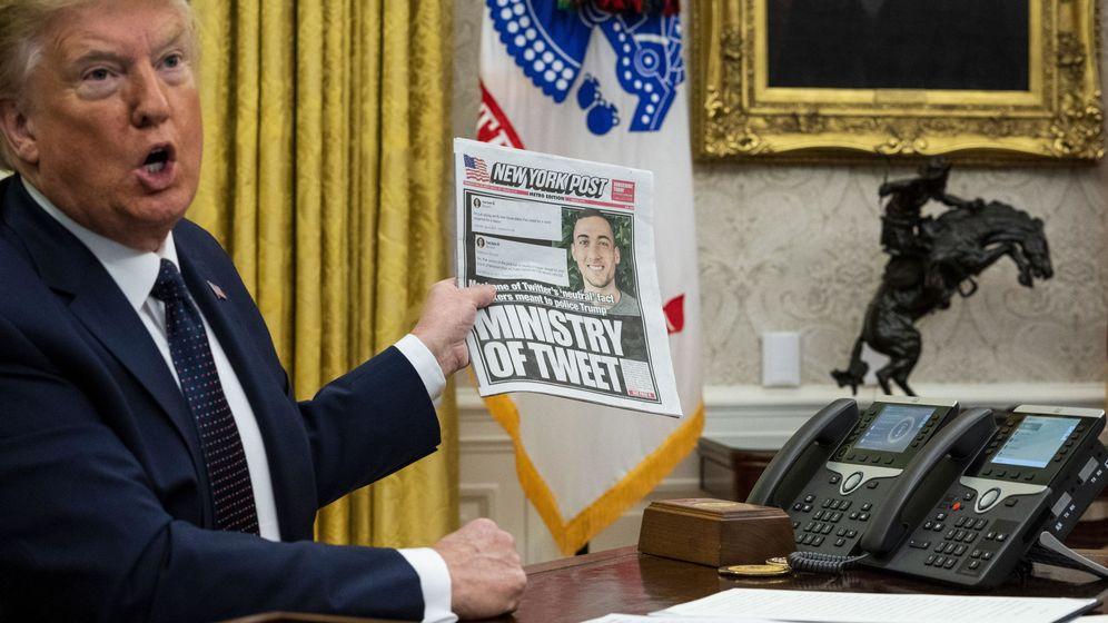 Foto: Donald Trump, en mayo. (EFE)