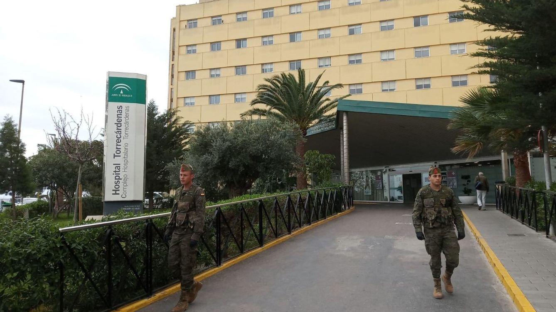 Foto: Fotogradía del Hospital Torrecàrdenas de Almería. (EFE)