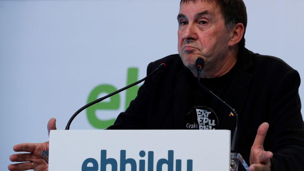 Foto: El coordinador general de EH Bildu. (EFE)