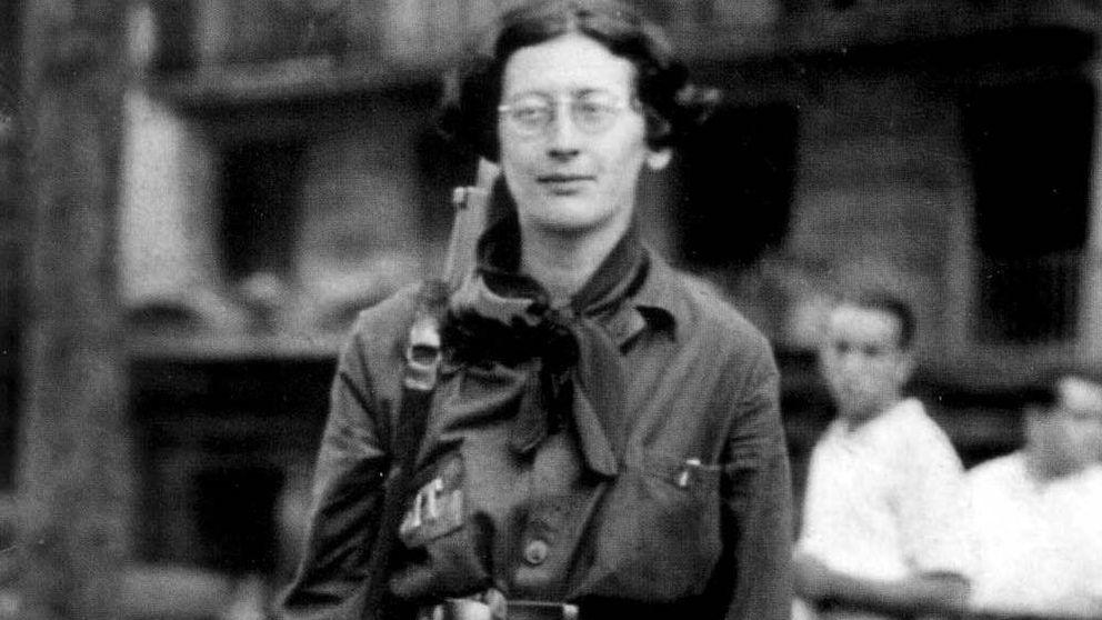 """Simone Weil, la """"virgen roja"""" que seduce a la izquierda y a la derecha"""