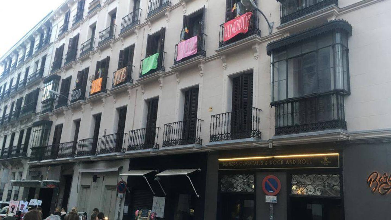Una veintena de inquilinos de Fusara se ha movilizado contra la venta.