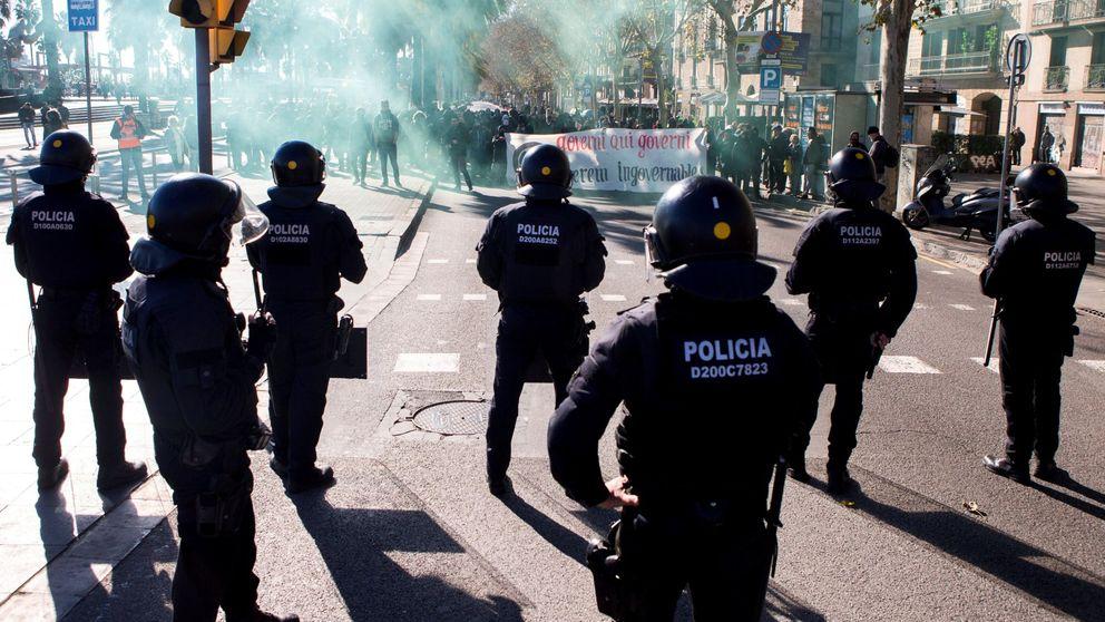 """La violencia en las calles catalanas sube y los radicales ya hablan de """"lucha enérgica"""""""