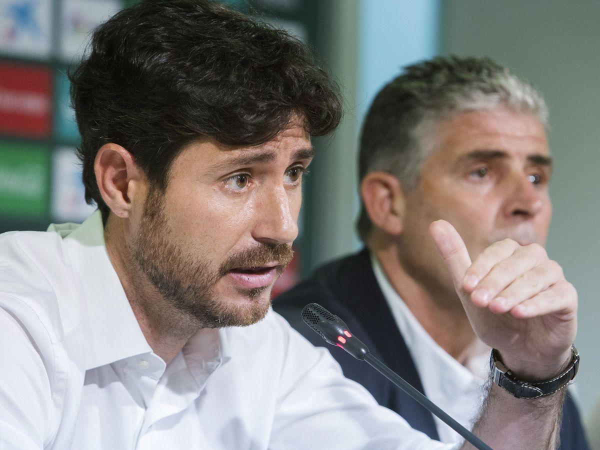 Foto: Víctor Sánchez del Amo, entrenador del Málaga. (EFE)