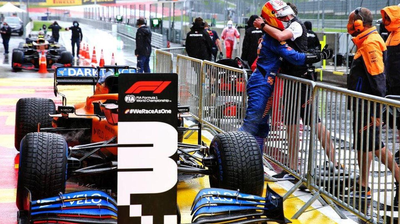 Sainz está aún convencido de que el quinto puesto hubiera sido suyo en el Red Bull Ring tras el tercero del sábado (MCLAREN)