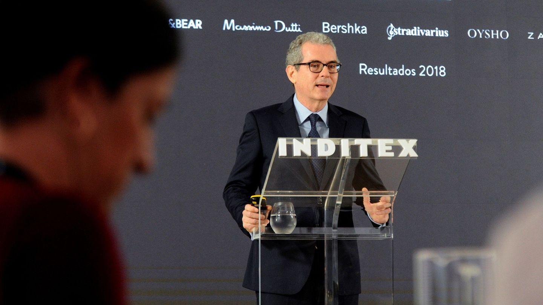 El presidente ejecutivo de Inditex, Pablo Isla