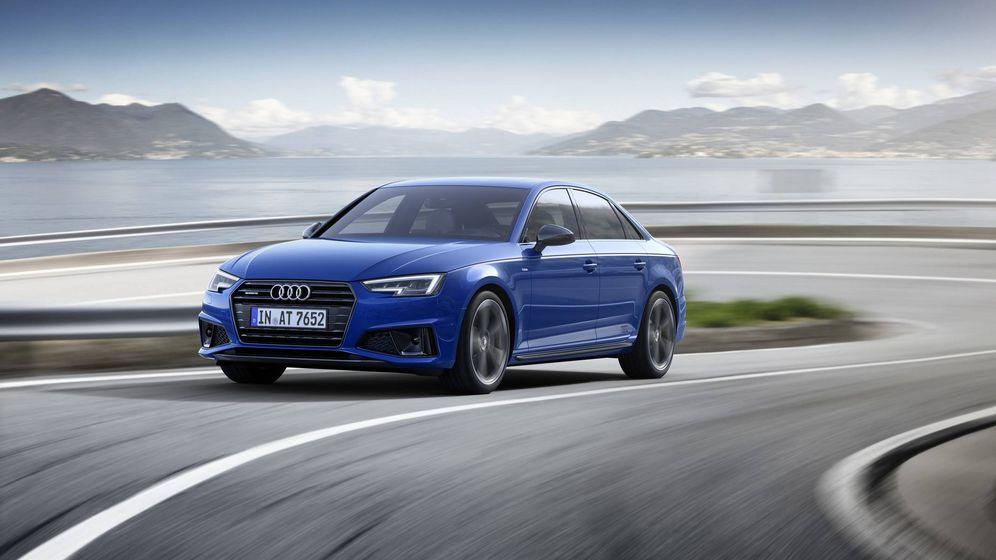 Foto: La berlina A4 de Audi también se pone al día en un año lleno de novedades.