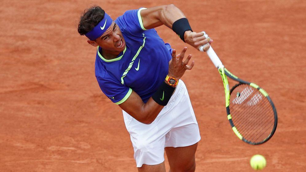 Foto: Nadal, en primera ronda. (Reuters)