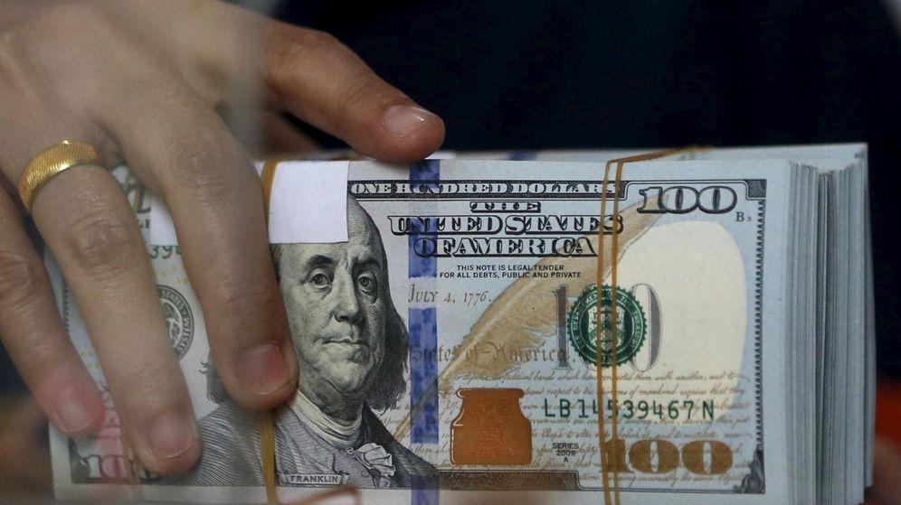 Foto: Dólares de la Reserva Federal