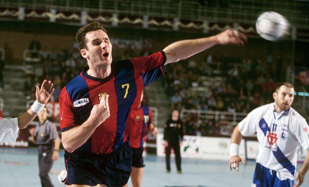 Foto: Iñaki Urdangarin, durante su etapa como jugador del Barcelona. (Cordon Press)
