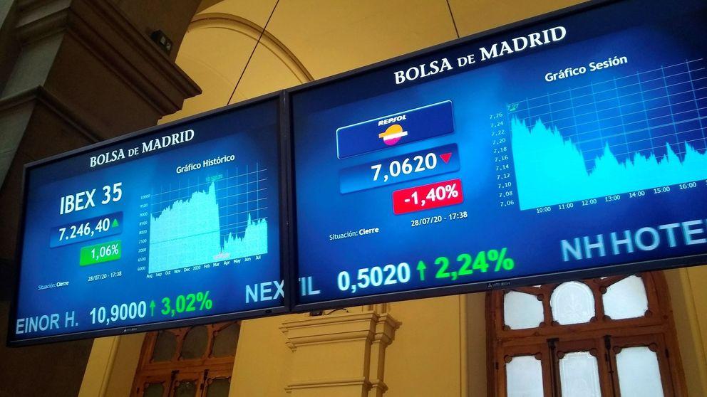 El Ibex se viene abajo: claudica ante el dato del PIB y otra oleada de resultados