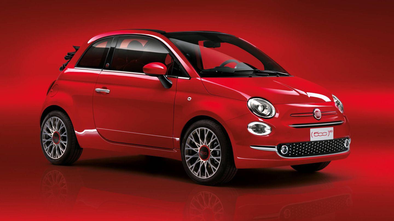 Además del Nuevo 500 eléctrico, la versión especial (RED) también puede elegirse en el 500 Hybrid.