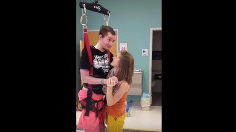 Sueño cumplido: baila con su marido tetrapléjico dos años después de la boda
