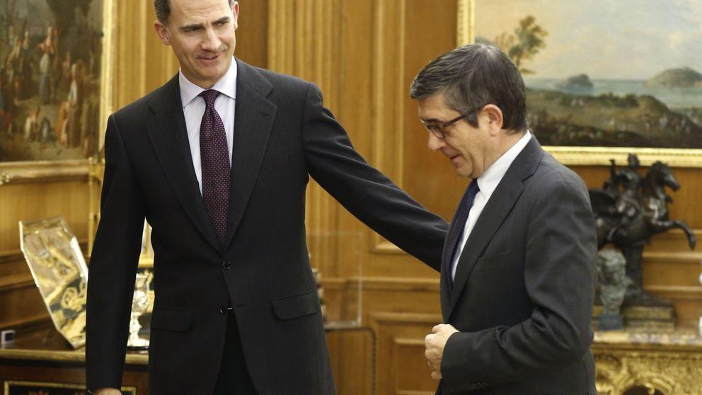 Felipe VI recibirá a Patxi López el próximo lunes a partir de las 13.00 horas