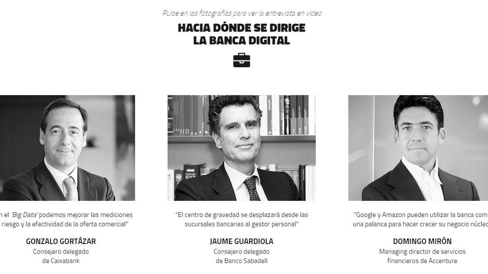 Los CEO analizan la transformación digital de la banca española