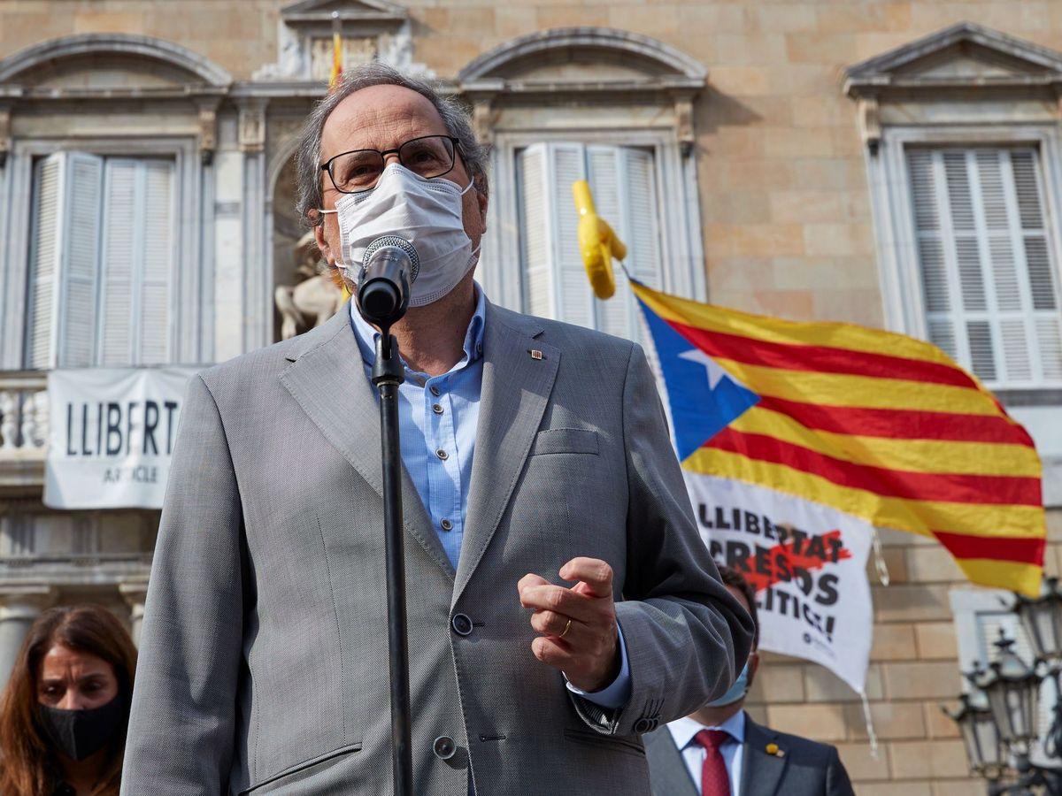Foto: El expresidente de la Generalitat, Quim Torra. (EFE)