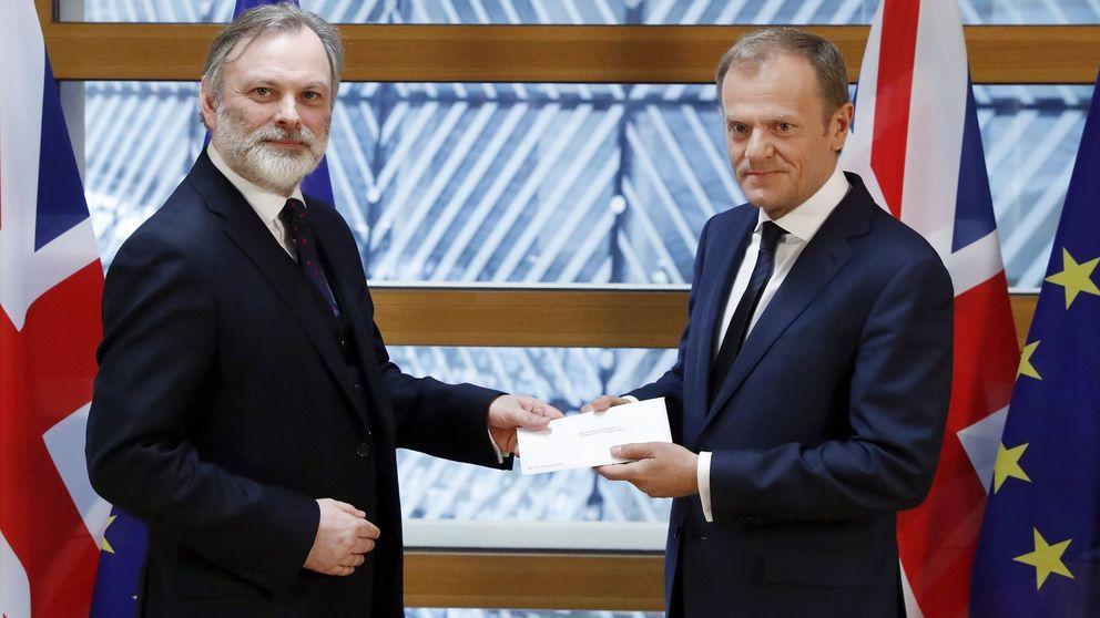 La carta con la que Reino Unido pide salir de la Unión Europa (en inglés)
