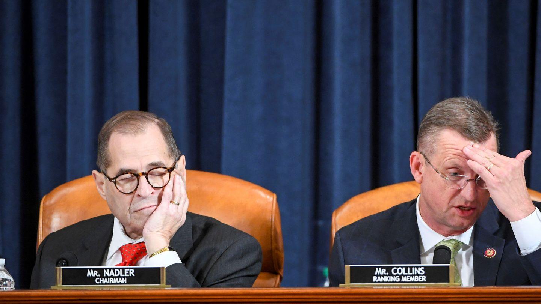 Jerry Nadler, junto a Doug Collins, en el Capitolio. (Reuters)