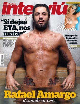 Foto: Rafael Amargo se desnuda para Interviú