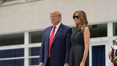 La forzadísima sonrisa de Melania Trump que ha dado la vuelta al mundo