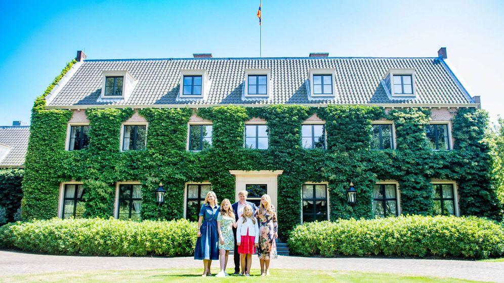 Foto: La familia real en Villa Eikenhorst. (Cordon Press)
