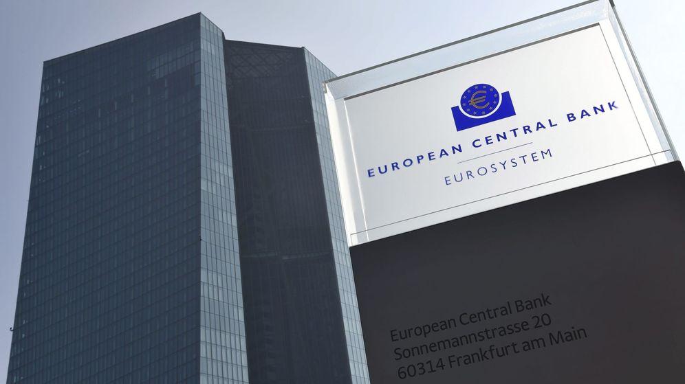 Foto: Edificio de la sede central del Banco Central Europeo. (EFE)