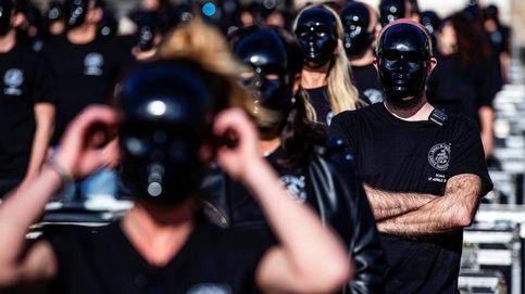 Protesta sector del entretenimiento en Roma