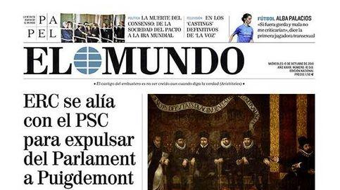 Ingobernable: el choque entre JxCAT y ERC, en las portadas de la prensa