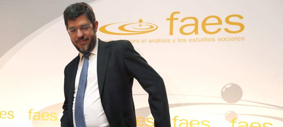Foto: Alberto Nadal, en una presentación en Faes. (Efe)