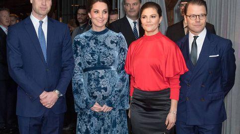 Kate Middleton se despide de Estocolmo con otro look floral fallido