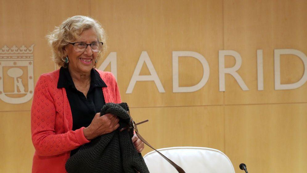 Foto: La alcaldesa de Madrid, Manuela Carmena (EFE)