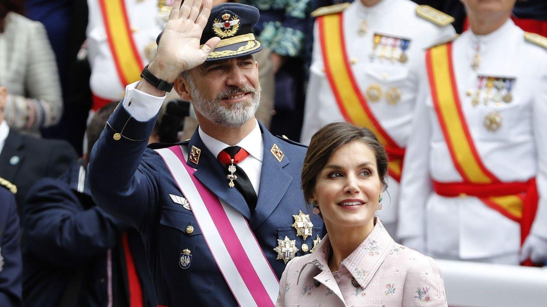 El Rey brinda en el Día de las Fuerzas Armadas por España, lo que más nos une