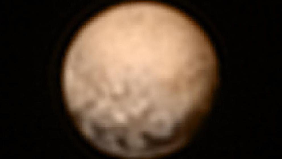 La New Horizons capta unas imágenes históricas de Plutón