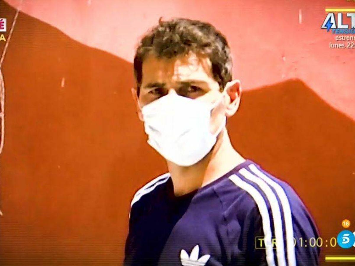 Foto: Iker Casillas, 'cazado' por 'Socialité'. (Mediaset España)