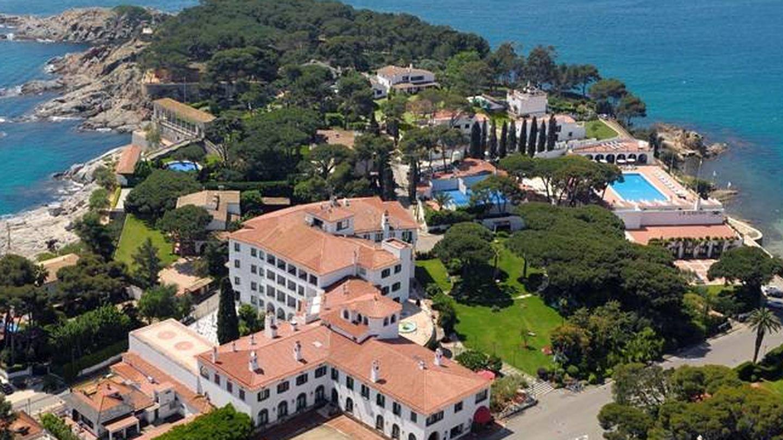 El hotel La Gavina de S'Agaró.